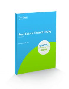 Real Estate Finance Today 6th Edition