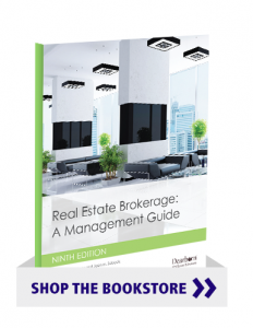 Real Estate Brokerage: A Management Guide 9th Edition (Textbook)
