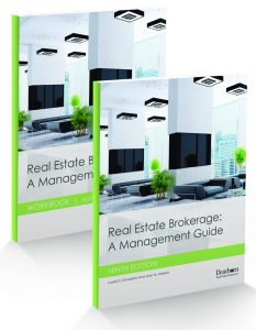 Real Estate Brokerage: A Management Guide 9th Edition (Textbook/Workbook set)
