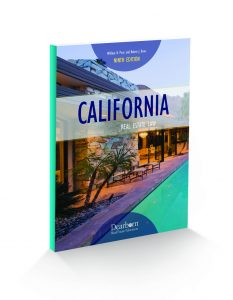 California Real Estate Law 9th Edition