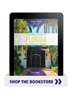 Post-Licensing Education for FL Real Estate Sales Associates 10th Edition eBook