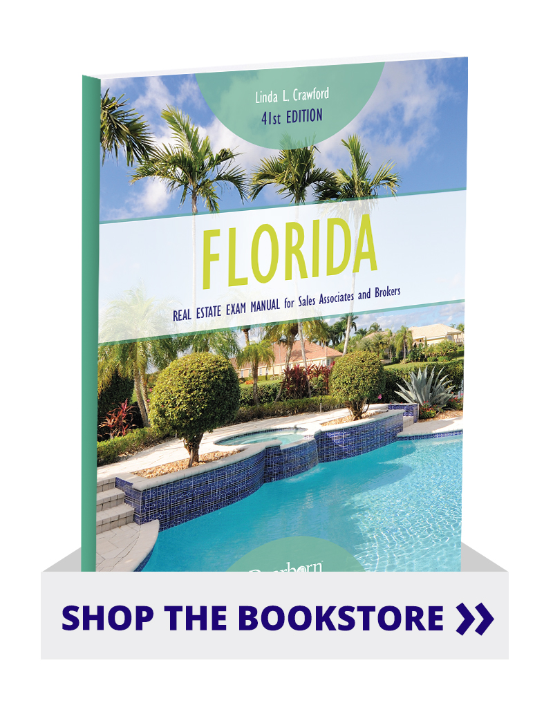 Florida Real Estate Exam Manual for Sales Associates and Brokers 41st  Edition – Dearborn Real Estate Education