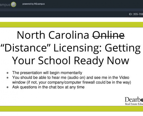 NC Distance Licensing